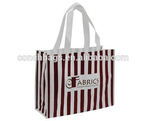 Plastic custom print shopping bag made in China