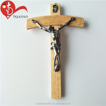 High Quality Religious Wall Decoration Wooden Cross