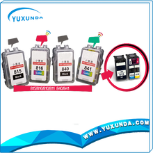 Yuxunda ink cartridges 815/816/840/841 small cartridge for canon 210/211, 87/88