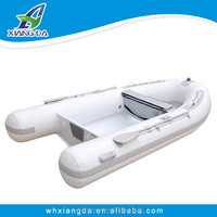 Factory wholesale aluminum rigid pontoon boat