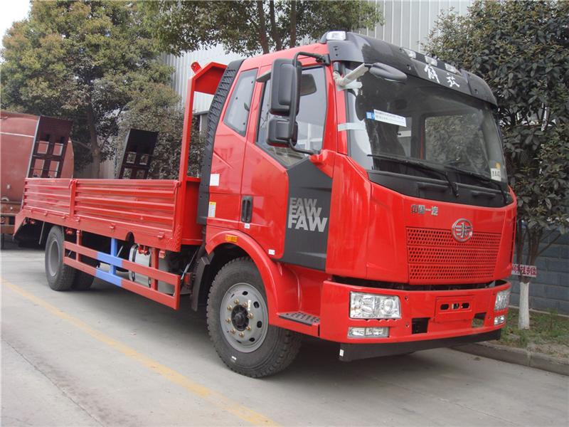 good quality factory sale 10 ton LHD 4x2 faw flat bed truck