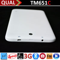 Hot Selling 6.5 inch best rated laptops with MTK8312 Dual Core 2G GSM phone calling Bluetooth GPS FM Android 4.4 C