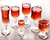 wholesale smoky hot selling colored Wine glass,glass cup,Goblet