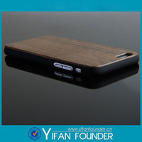 Black plastic wood back cover for iphone 6, for ipad wood case