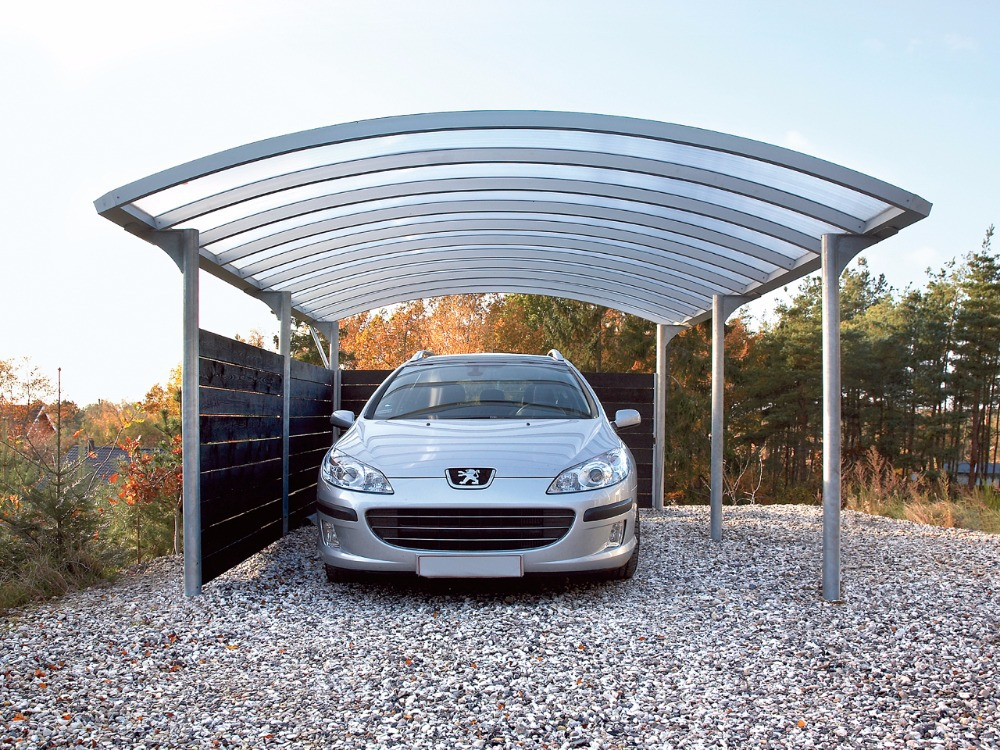Car Roof Sheet Metal For Garage : Aluminium garages canopies carports car shelters buy