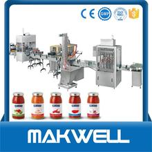 cangzhou hongfa ketchup tomato sauce /paste filling capping machine for wholesales