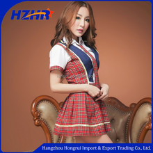 Hangzhou Hongrui Factory School Sex Girl Japanese School Girl Sexy Uniform