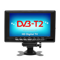 Android portable mini lcd with built-in digital tv tunner DVB-T2,DVB-T, ISDB-T TV