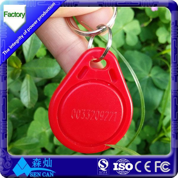New arrival auto passive rfid key fob for access control