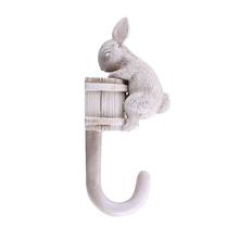 Resin Home Coat Hat Key Animal Shaped Single Wall Hooks For Decorative