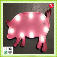 Vintage Finished pig Marquee light.pig outdoor light