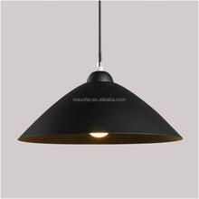 Wholesale Industrial chrome color iron drum shade pendant light ...
