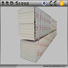China manufacturer pu sandwich panel walk in cooler sandwich panel