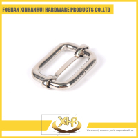 Stainless steel small belt buckle for bags