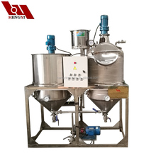 Super quality cooking oil used oil refining plant/small scale palm oil refining machinery