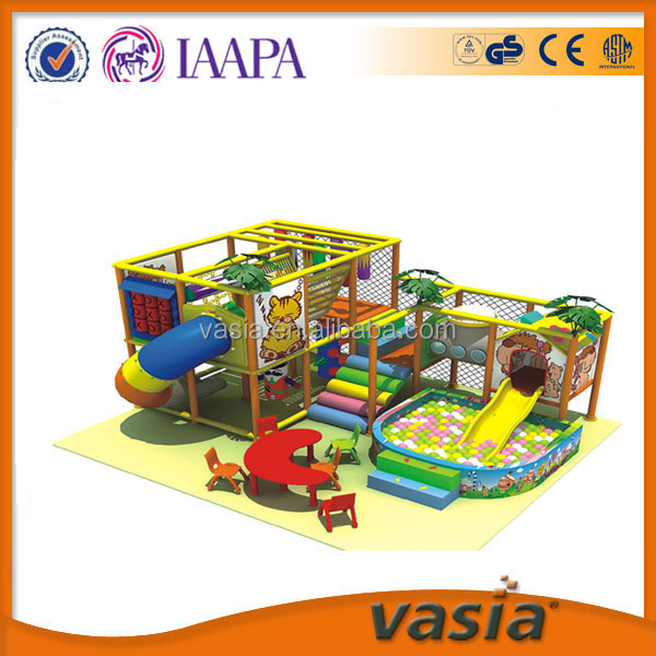 Kids small indoor play house,children game machines, plastic indoor soft play equipment