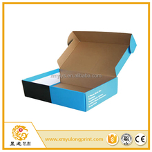 customize cardboard unique corrugated shipping box for suits