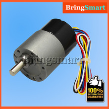JGB37-3525 24 Volt Brushless DC Geared Motors 24V Volt DC Gear Reducer With Signal Feedback Reversible Long Life Low Noise