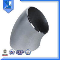 Large Welded Type Pipe Joint Bend 45 Ss316 L