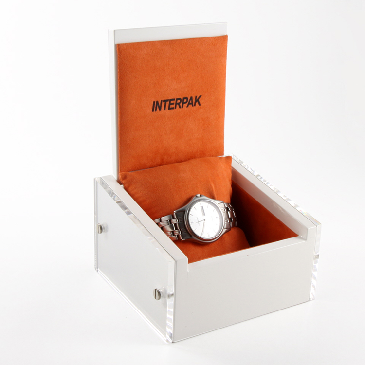 Unique elegant wooden empty watch gift boxes
