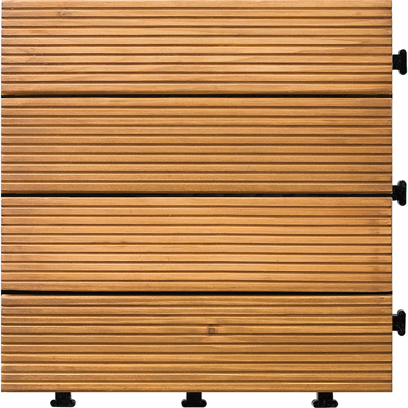 Outdoor Building Material Chinese Supplier Wooden Interlocking Floor Tiles