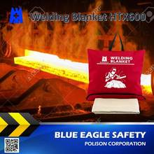 Blue Eagle Supplies HTX600 0.71mm safety welding fire blanket