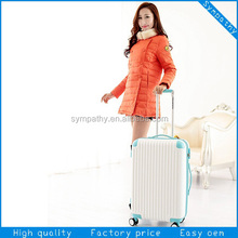 travel luggage bags 2014 Korea fashion ABS/PC trolley luggage