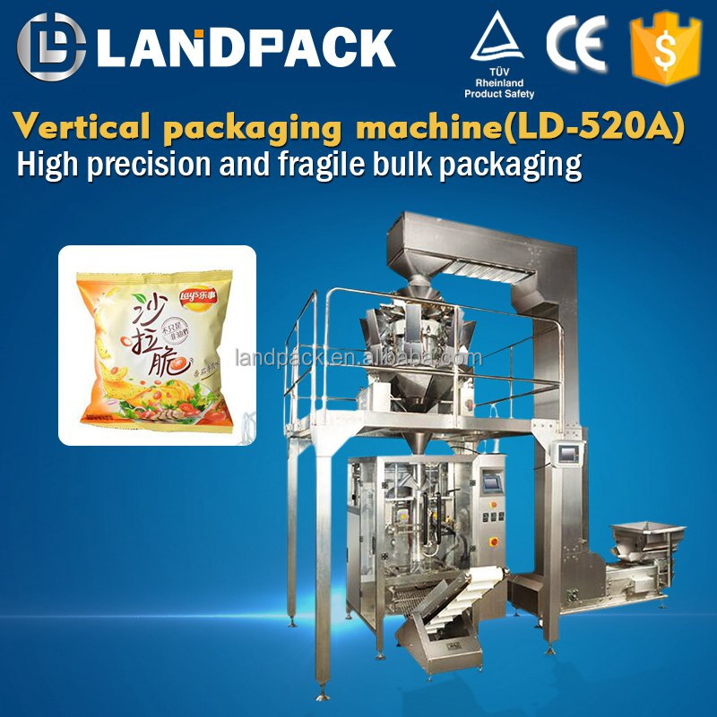 Packing Filling Machine For Bugles/ Sun / Soya Chips