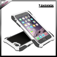 2015 China Impact metal three-proofing waterproof cell phone case for iphone 5/5s
