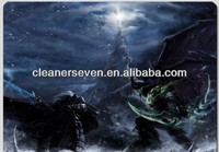 Designed Gaming Cloth Mouse Pad for PC Game World of WarCraft WOW fans(260*210*5mm)