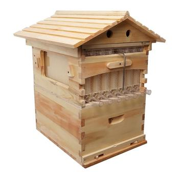 2018 Hive flow factory directly supply pine fir material automatic auto bee honey flow hive with reasonable price