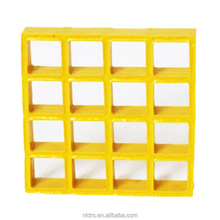 square mesh 38x38 molded frp grating/plastic grating flooring covering