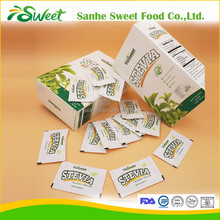 100% natural stevia extract sweetener 1g stevia sachets private label