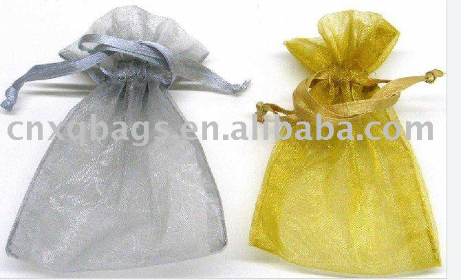 Eco-friendly organza gift pouch
