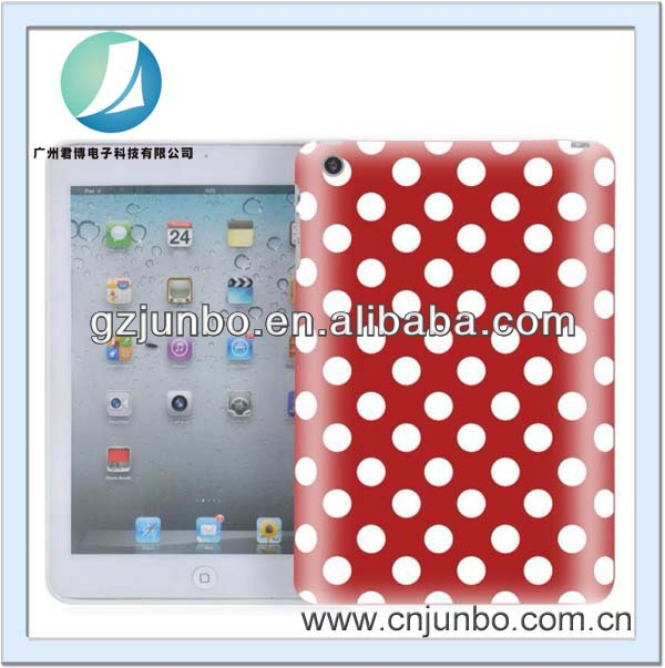Polka Dot Hard Tablet Case for ipad mini