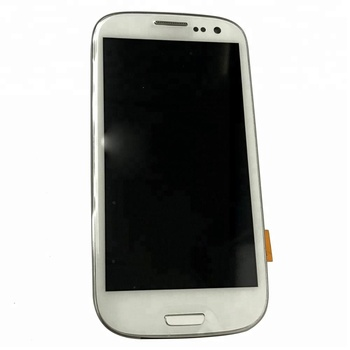 for samsung Galaxy s3 display LCD display S3 i9300 with frame phone part S3 LCD screen