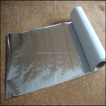 Aluminum Foil Radiant barrier Woven Fabric For Heat Insulation