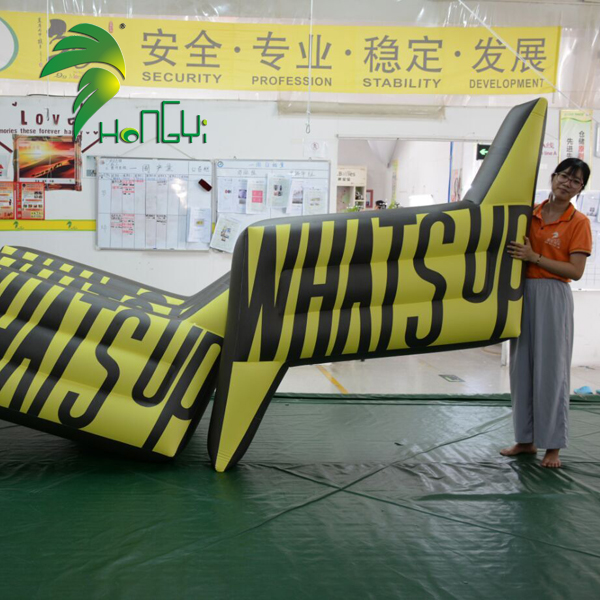 Custom made advertising air mattress , Inflatable flat shape pool floats for sale