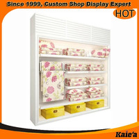 Good quality bedding display furniture for store