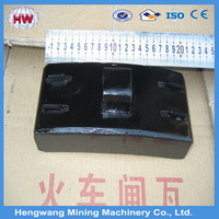Railway supplies composite brake shoe for train