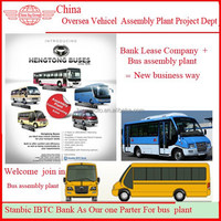 Chinese Minibuses and Manufacturing Facility For Sale