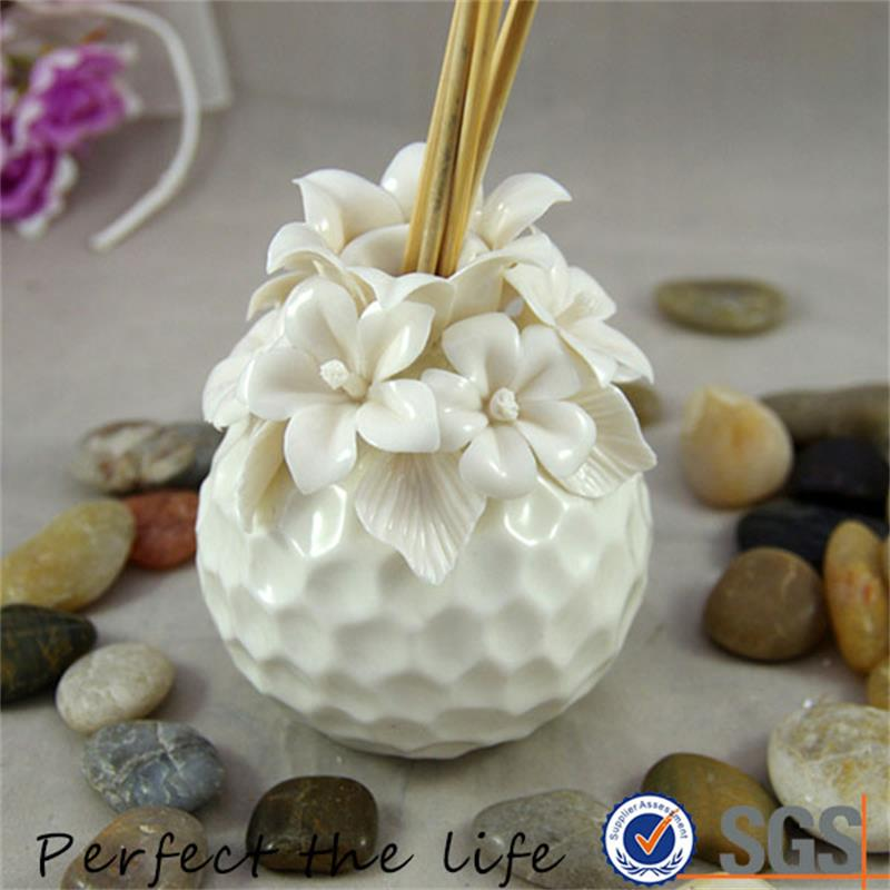 Professional ceramic essential oil reed diffuser