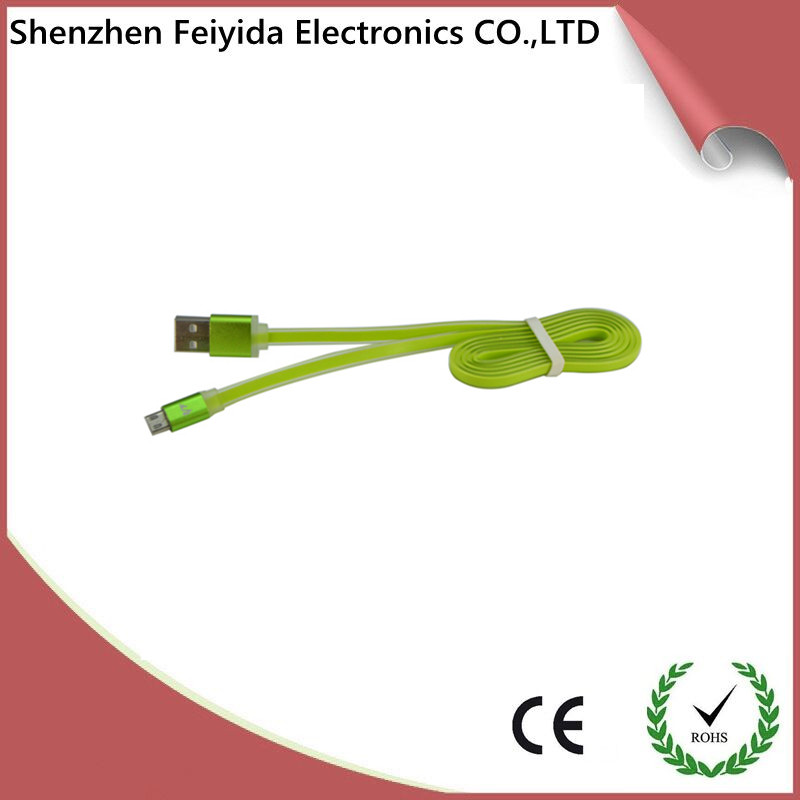Shenzhen feiyida TPU noodle data usb cable driver for iphone