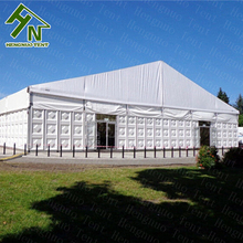 800 sqm Aluminum Warehouse Tent with Sandwich Panel Wall for Industrial Logistic Park