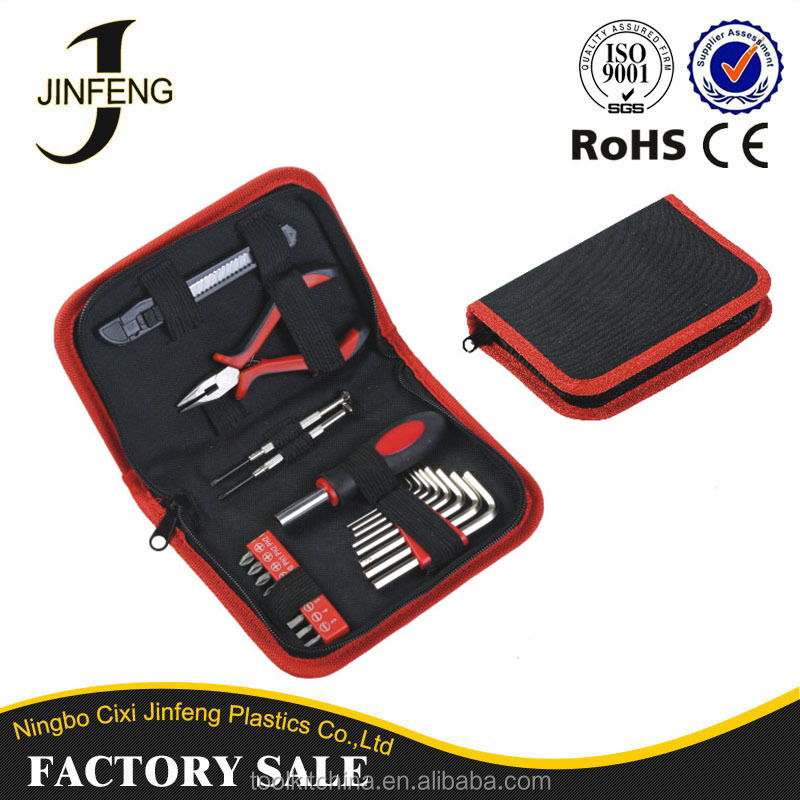 Tool Set Manufacturer High Quality Polyester Zipper Small Professional Hand Tool Bag