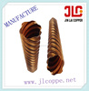 radiating spiral copper tube /pipe
