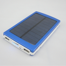 The biggest capacity Large capacity solar power bank 18000mAh phone charger