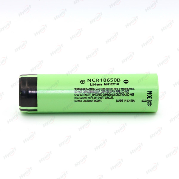 18650 battery 3400mah NCR18650b High capacity long lasting battery 18650 with solder tags