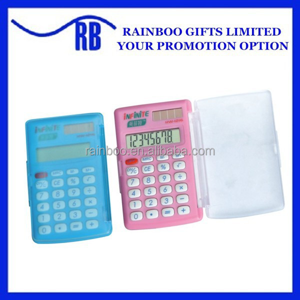 Hot selling cheap plastic graphic calculator with lid