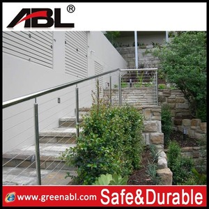 outside home classical stair railing